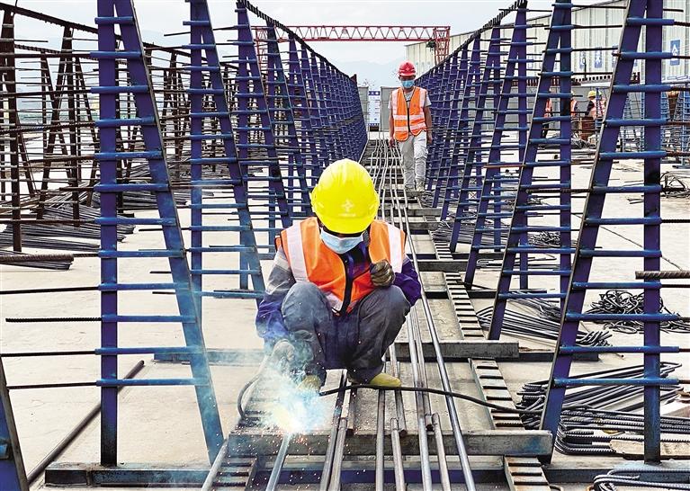 火力全开!山海高速项目建设力争把耽误的工期抢回来